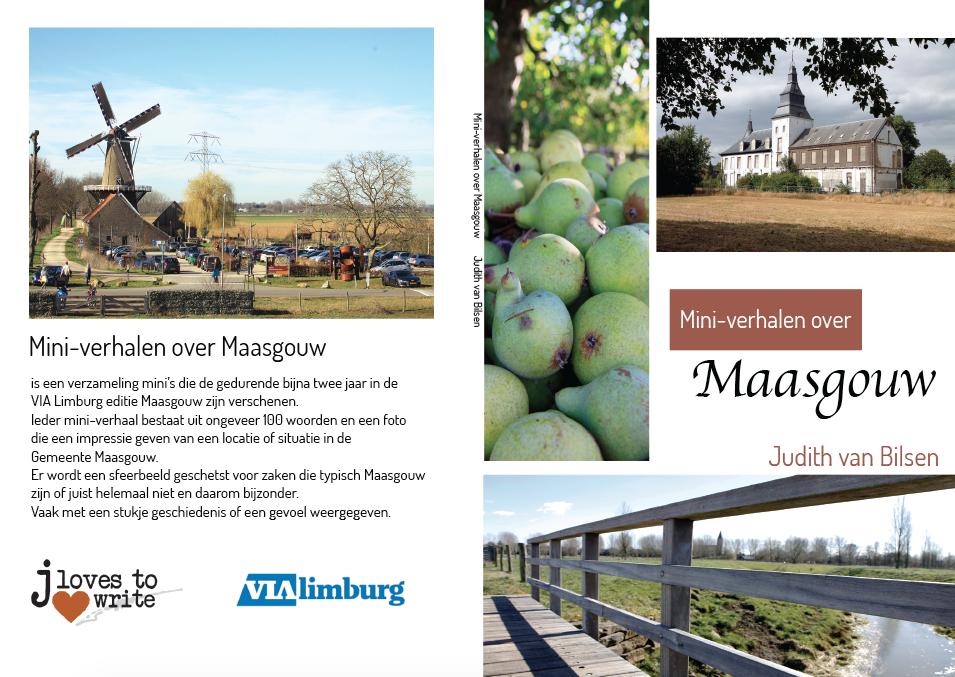 Omslag Mini-verhalen over Maasgouw