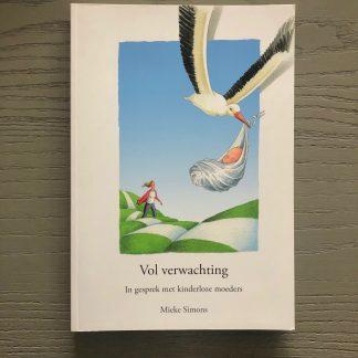 19. Mieke Simons - Vol verwachting cover
