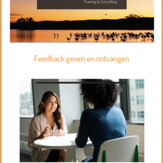 Cover e-book feedback met rand