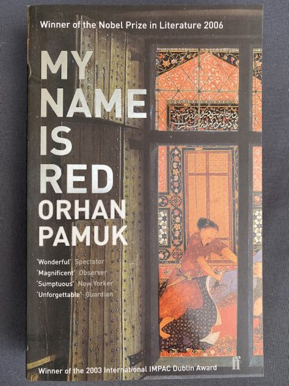 My name is Red Orhan Pamuk