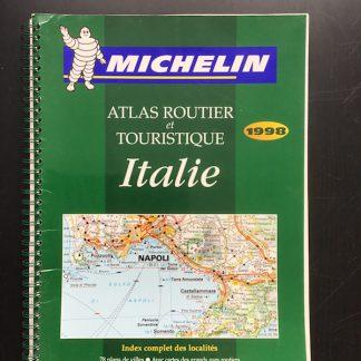 Italie michelin atlas