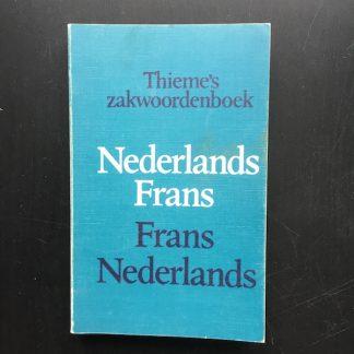 Zakwoordenboek NL-FR